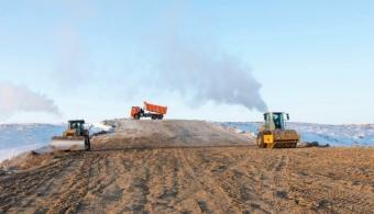 1.На строительство дороги связывающей Нарьян-Мар и Усинск, выделили еще 5,5 миллиарда рублей.